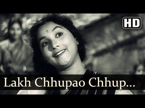 Laakh Chhupaao Chhup (HD) - Asli Naqli - Dev Anand - Sadhana - Lata Mangeshkar - YouTube