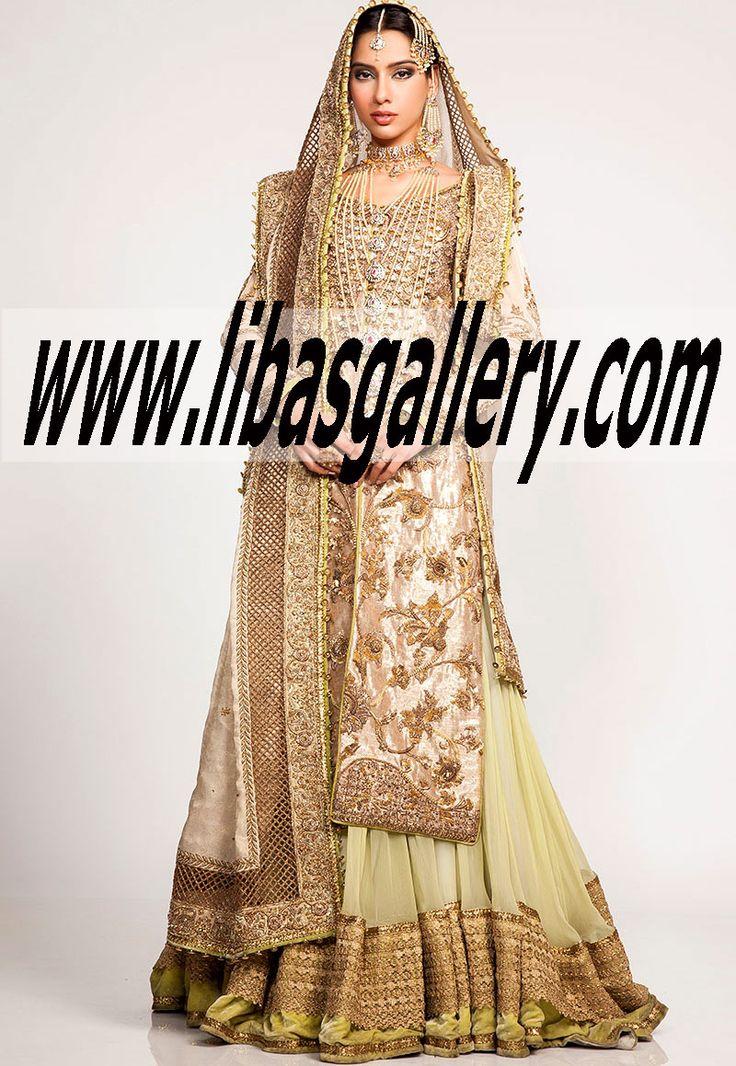 Designer Fahad Hussayn Bridal Dresses Party Wedding