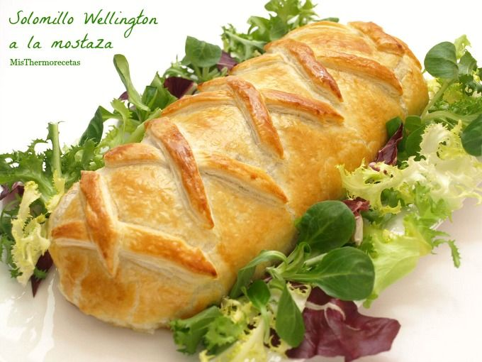 ¿Qué os parece este receta como plato principal para la cena de mañana?. Es un solomillo Wellington o...