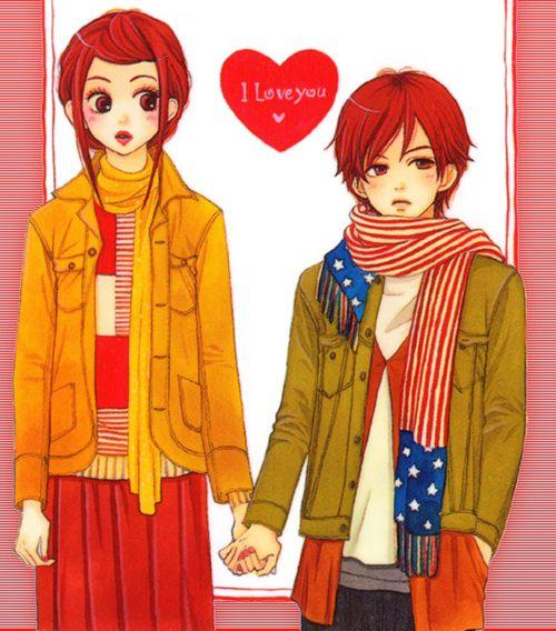 Koizumi Risa + Otani Atsushi = Forever! Lovely Complex