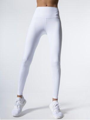 2ece6933c4d46a ALO YOGA High-Waist Dash Leggings White LEGGINGS | Work Out in 2019 ...