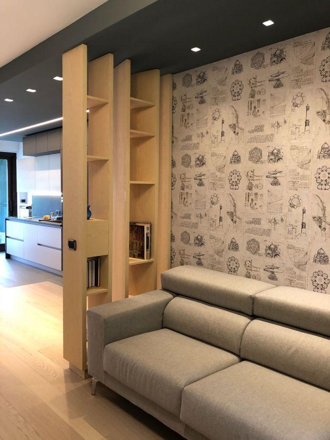 arredamento casa progetto zona giorno design cucina soggiorno mobile ...