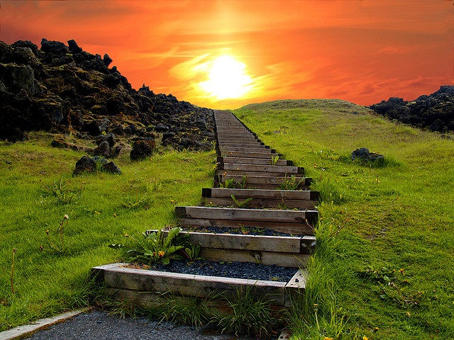 Stairway to Heaven - Iceland