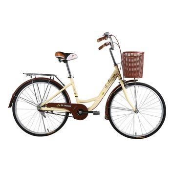 ALTRUISM Q3 City Bike 24 Inch Road Bikes Retro Bike Bicicleta Bisiklet Ladies Bicycle Aluminum Bicycle Rear Drum Brake