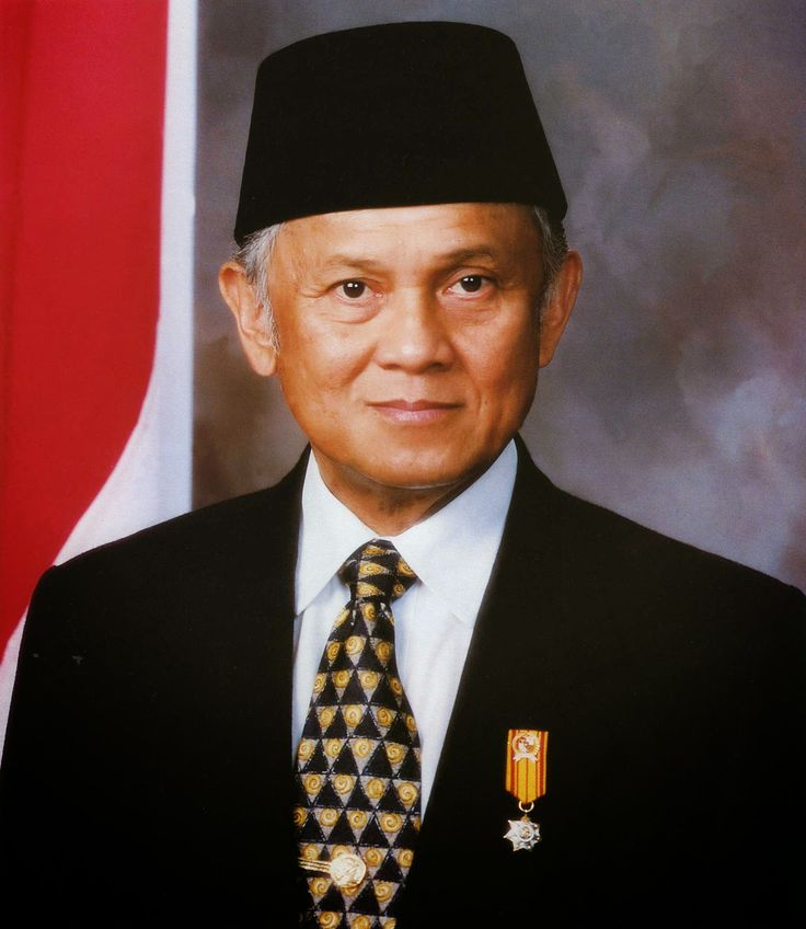 Prof.DR.Ing.H.Bacharuddin Jusuf Habibie (BJ. Habibie)