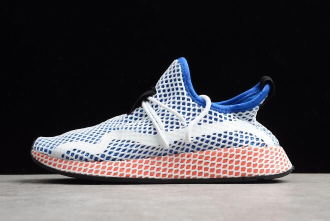 adidas Deerupt Runner Blue White Red Shoes Outlet | Adidas