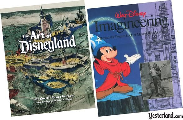 The Art of Disneyland and Walt Disney Imagineering