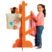Pkolino Modern Children's Clothes Tree Small Bedroom Kids Coat Rack