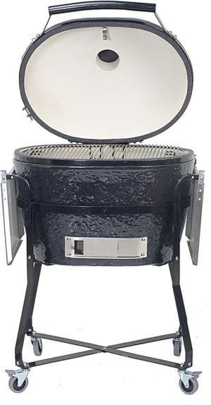 10 Best Kamado Grills and Smokers: Primo Oval XL Charcoal Grill
