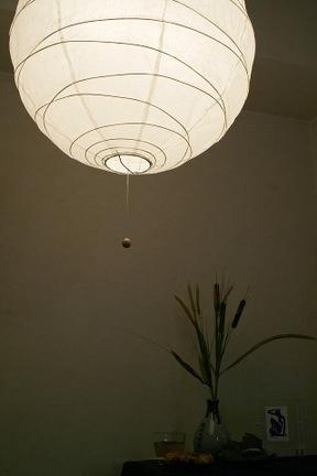 和風照明和室和紙提灯・クロス[ちょうちんくろすw450]ペンダントライト2灯ボールタイプ【和モダンアジアンインテリア照明天井照明間接照明リビング用和風ライトLED対応6畳用送料無料ポイント倍