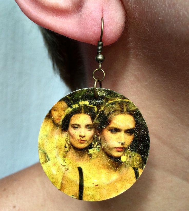Earring, brinco madonas by