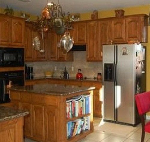 Refinishing Oak Kitchen Cabinets: How To Refinish Oak Cabinets DIY In 2019
