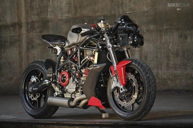 Ducati 749 custom.pagipagi sarapan extreme