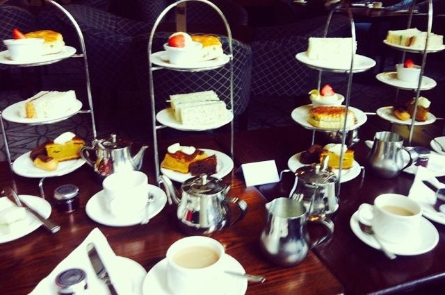 Afternoon tea at Tortworth house