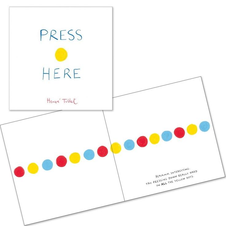 press here by hervé tullet