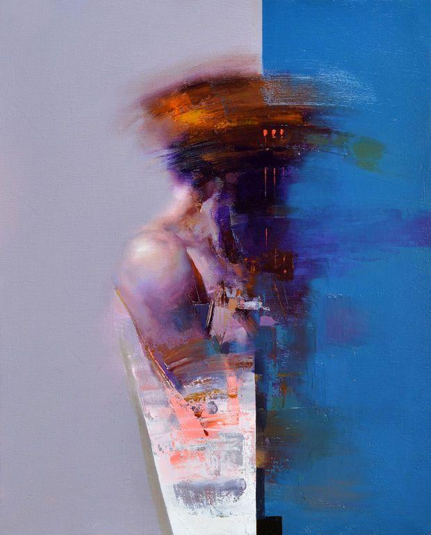 "Saatchi Art Artist: Zin Lim; Oil 2014 Painting ""ID#06"""