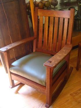 L Stickley Rocking Chair