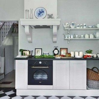Pobielane meble i przedwojenne wnętrze pięknego domu : Weranda Country