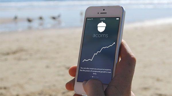 acorns app iphone