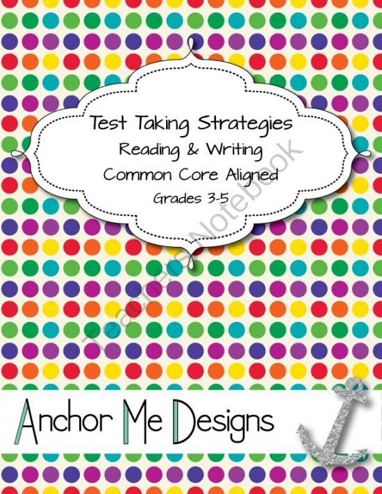 Standardized test tomorrow? Writing help?