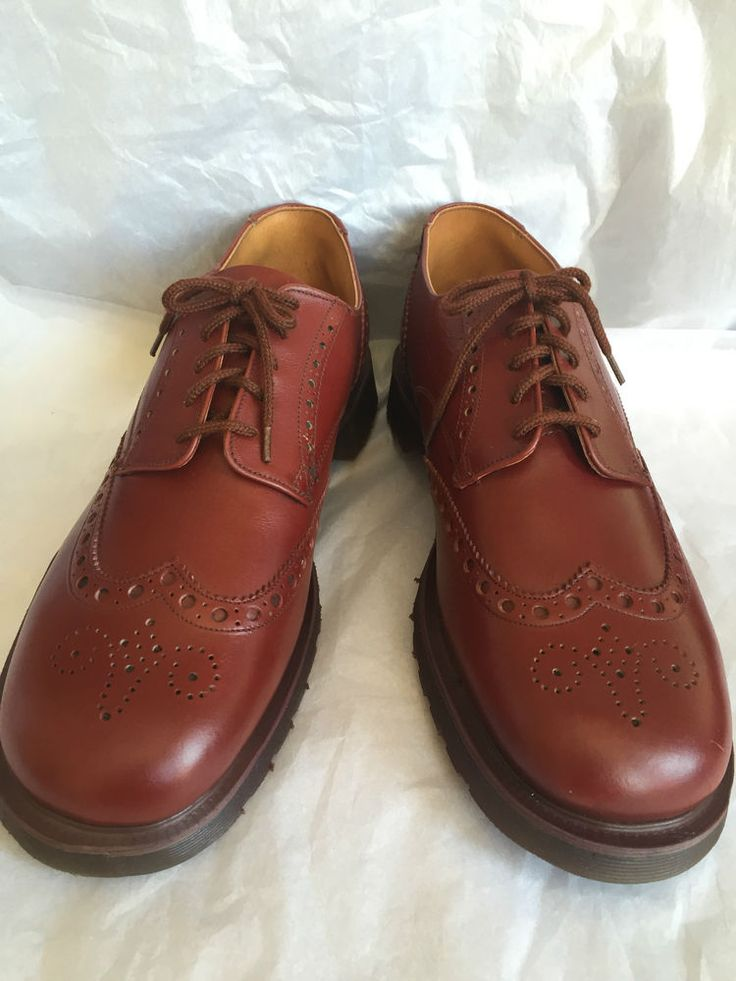 RARE! BRAND NEW 70S VINTAGE BROGUES DR MARTENS MADE IN ENGLAND UK10 DEADSTOCK in Clothes, Shoes & Accessories, Men's Shoes, Formal Shoes | eBay