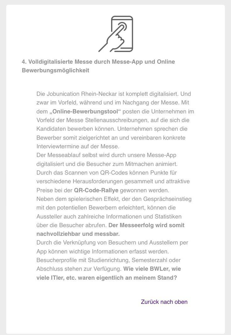 Highlight auf der Jobunication - Karrieremesse Rhein-Neckar 2016