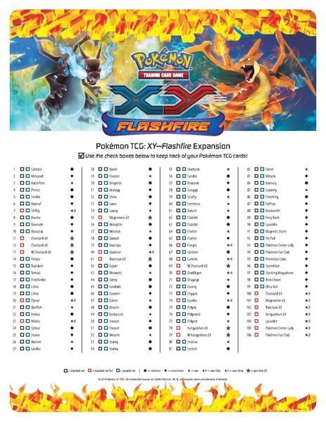 pokemon checklist pdf - Google Search Informational text