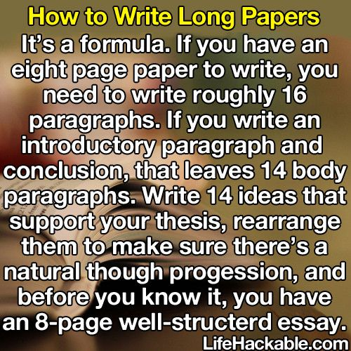 5 Page paper -- How long to write?
