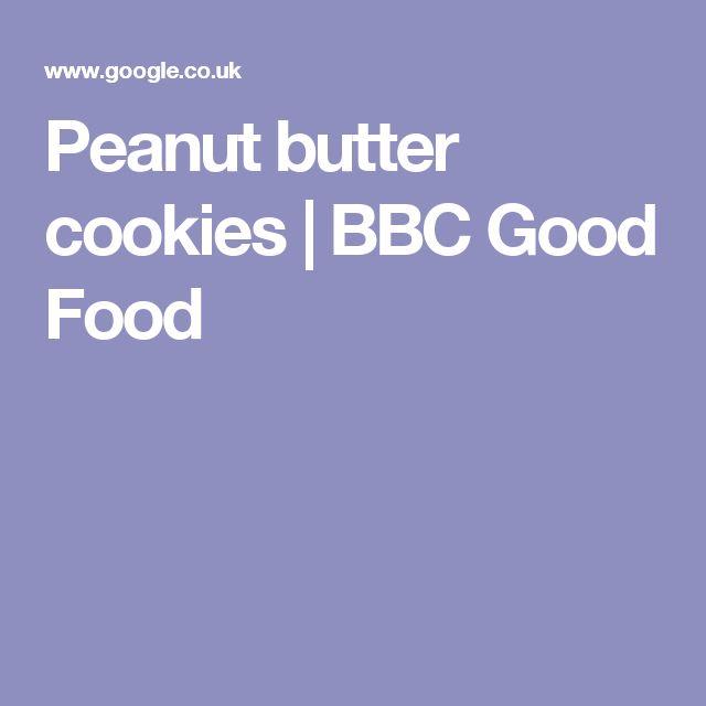 Peanut butter cookies | BBC Good Food