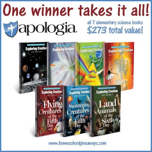 Apologia Science Elementary Set of All 7 Books