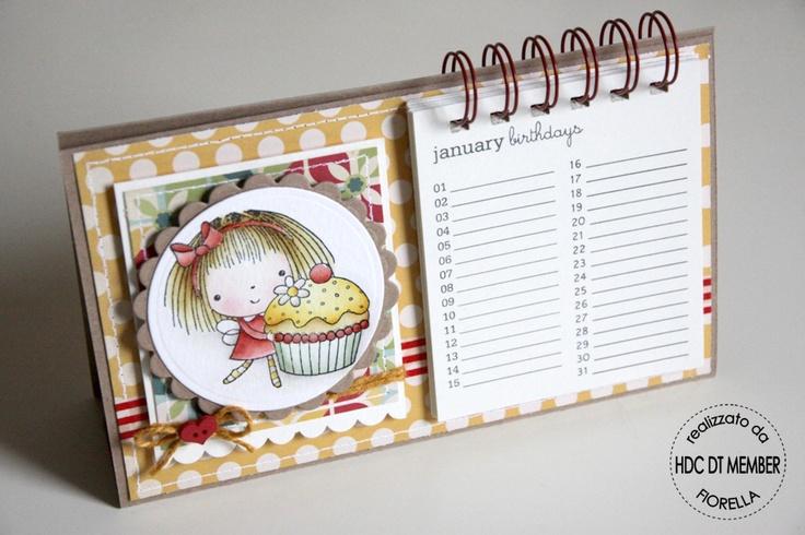 "Hobby di Carta - Il blog: CARD & Co. ...""birthday reminder & card"" by Fiorella"