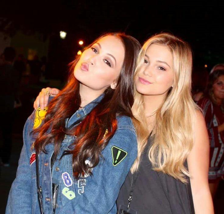 Kelli Berglund & Olivia Holt | Kat Spade - Fallen Series ...