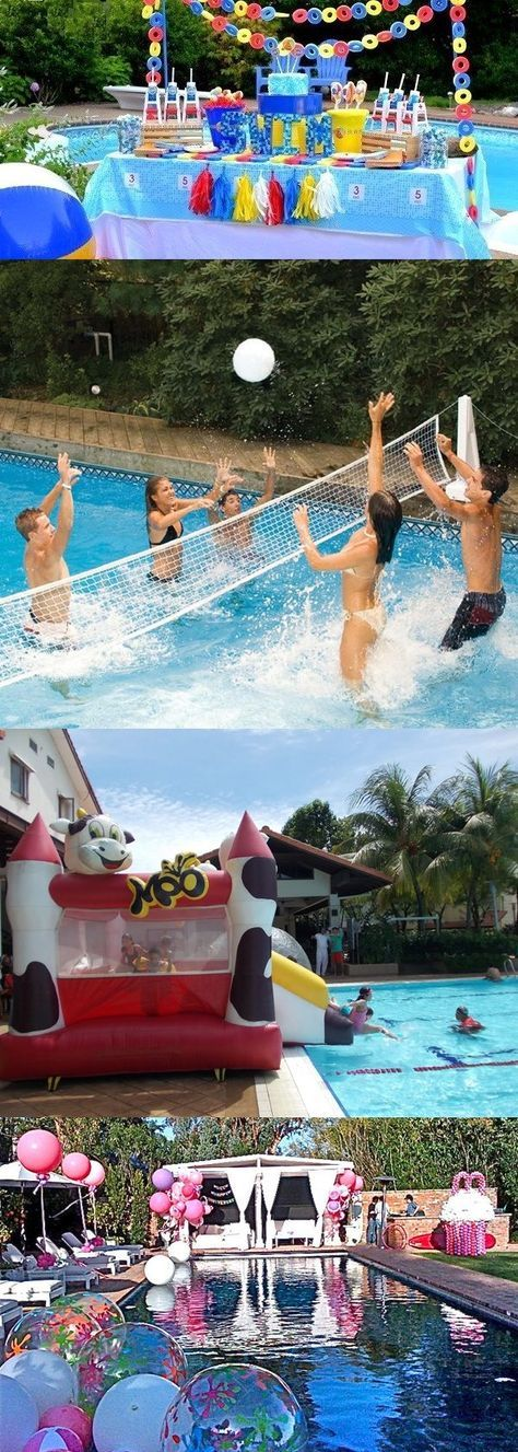 4 Amazing Ideas for Teens Pool Party  - Teenagers love to have fun in swimming pools, so we have chosen best pool party ideas for teens, Birthday Pool Party ideas & pool games. Start Planning NOW! -  Teens Pool Party ideas .