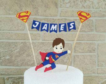 Spiderman cake topper Superhero cake topper Superhero