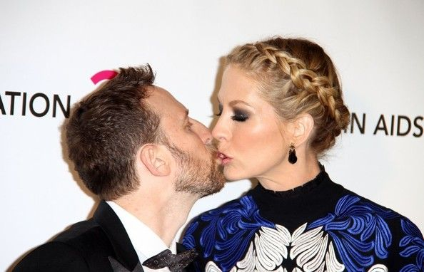 Jenna Elfman and Bodhi Elfman - Celebs at Elton John's Oscar Party 2