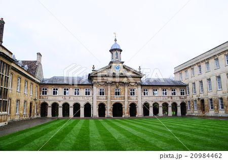 ケンブリッジ大学の境内