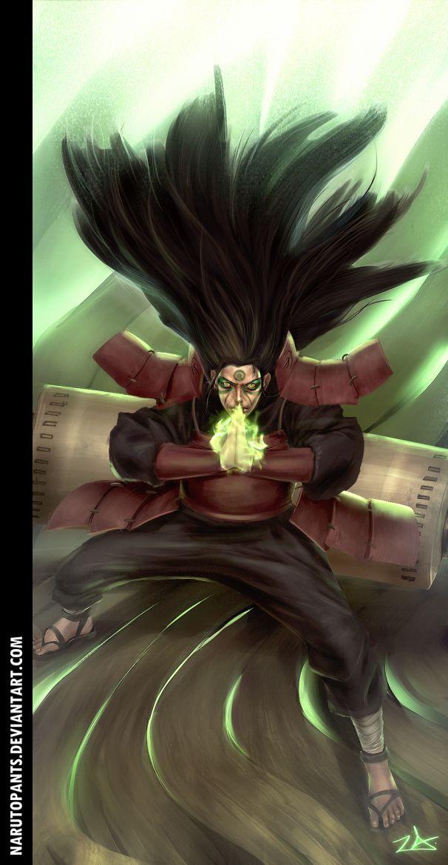 Naruto 621 - True Power by NarutoPants.deviantart.com on @deviantART #hashirama  #mokuton