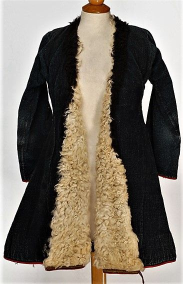 Greek winter overcoat, from Thrace.  First half of 20th century.  (Source: Lyceum Club of Greek women, Athens).