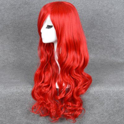 65CM Girl Long Big Curly Wavy Red Wigs Heat Resistant Hair #jewelry, #women, #men, #hats, #watches