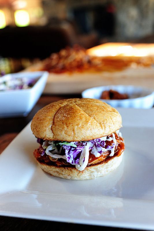 Barbecue Chicken Sandwiches. Serve with cilantro slaw...or just plain ...
