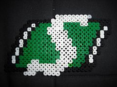 Ravelry: Saskatchewan Roughriders Logo pattern by Nell Fergusson