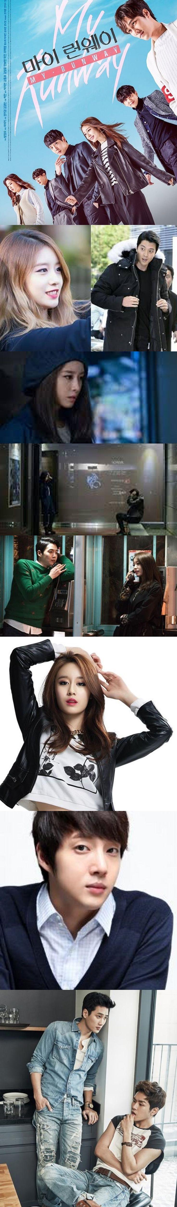 My Runway (마이 런웨이) WebDrama 2016 - 6 episodes - Park Ji Yeon / Kang Dong Ho / Kisum / Ahn Bo Hyun / Yang Hak Jin