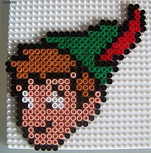 Disney Peter Pan hama beads