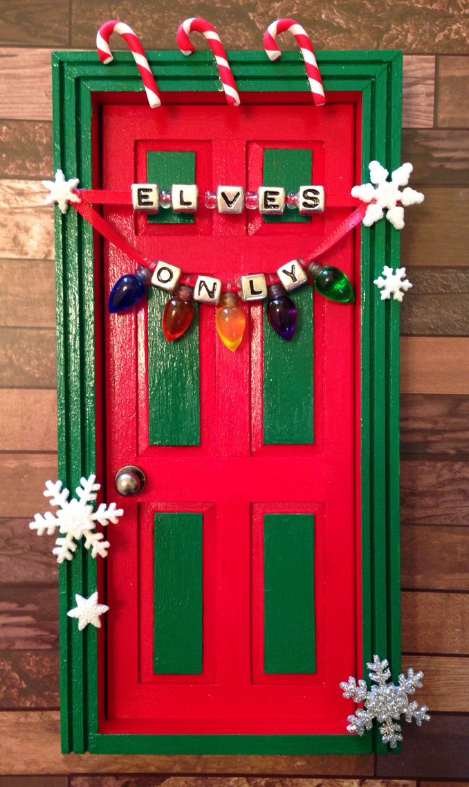 Elves Only Door From Etsy Shop Jessicaleeevans