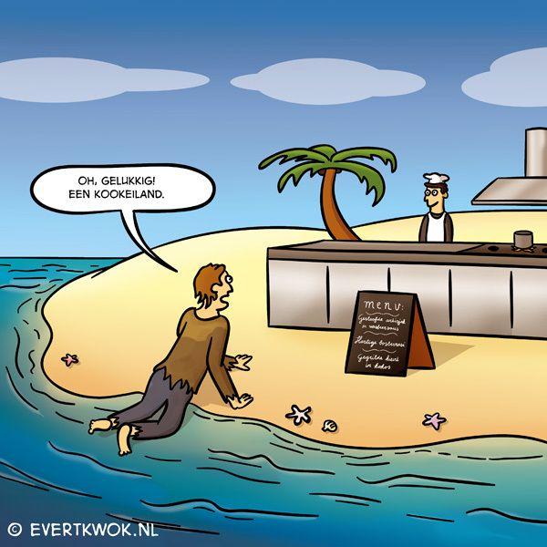Ah ik zie het al #cartoon - Evert Kwok