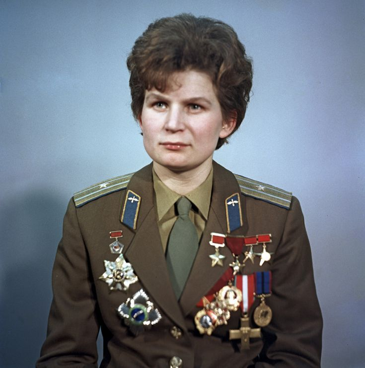 11 Women You Didn't Know Paved the Way: First Woman in Space: Valentina Tereshkova