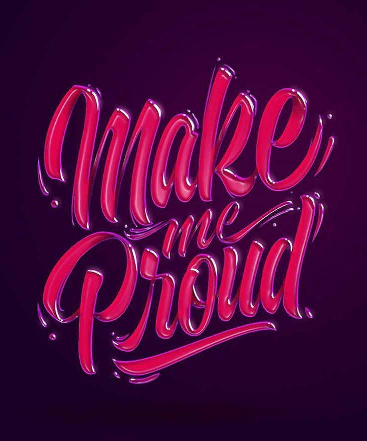 Love this shiny text effect. Type by @hey.morgan - #typegang - free fonts at typegang.com | typegang.com #typegang #typography