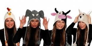 Cappelli animali in lana