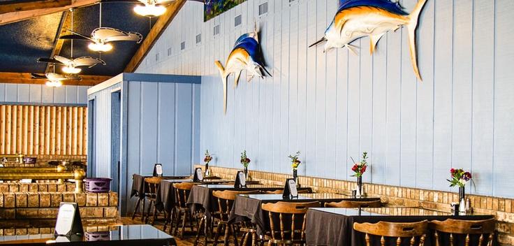 Crystal cove resort hotel blue water bay restaurant