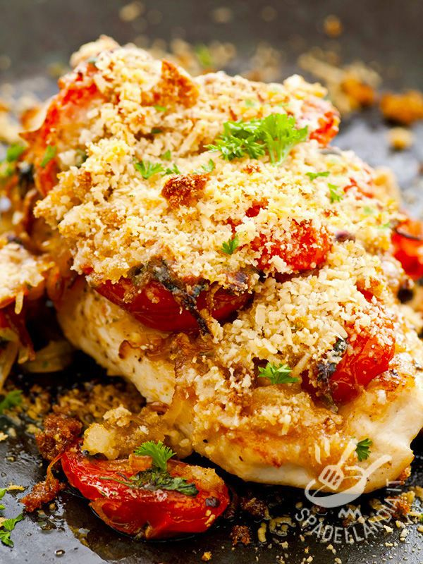 Chicken breasts Mediterranean - I Petti di pollo alla mediterranea sono l'ideale per chi ama la cucina leggera e saporita, rustica e a base di ingredienti genuini. E piacciono a tutti!